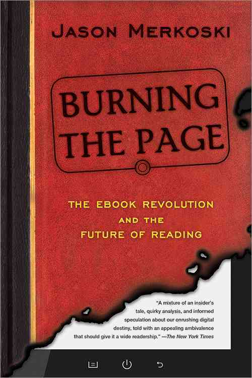 Burning the Page By Merkoski, Jason